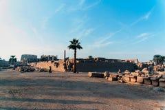 Reihe Bilder von berühmten Monumenten und Orte von Ägypten Stockfotos