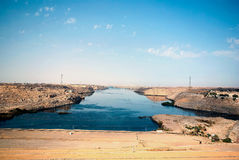 Reihe Bilder von berühmten Monumenten und Orte von Ägypten Stockbilder