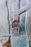 Reihe Bilder von berühmten Monumenten und Orte von Ägypten Lizenzfreies Stockbild