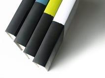 Reihe der Bücher Lizenzfreies Stockfoto