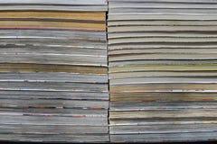 Reihe der Bücher Lizenzfreies Stockbild