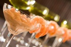 Reihe der Cocktails Stockfotos