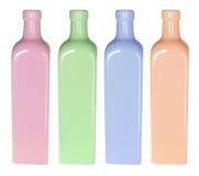 Reihe der Flaschen lizenzfreies stockbild