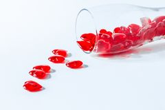 Reihe der Innerer Valentinsgruß-rote abstrakte Tapete Hintergrundcollage lizenzfreie stockbilder