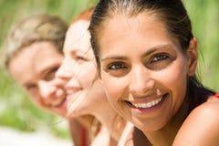 Reihe der Mädchen Lizenzfreies Stockfoto