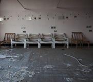 Reihe der Stühle Lizenzfreies Stockfoto