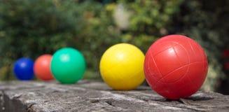 Reihe des Balls lizenzfreies stockfoto