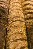 Reihe des Brotes Stockfotos