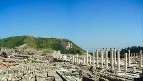 Reihe des Heiligen Landes - Beit Shean ruins#5 Stockfotografie