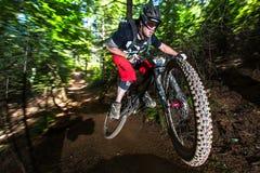 Reihe Oregons Enduro - Shane McKenzie Stockbilder