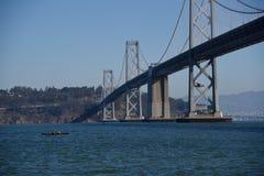 Reihe-Reihe-Reihe-Mein-Boot, das mein Fahrt-San Francisco Landscapes ist Lizenzfreie Stockbilder