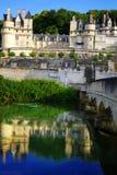 Reihe Schlösser. Chateau d'Usse, Frankreich Lizenzfreie Stockfotos