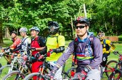 Reihe 2014 Thailands Enduro Lizenzfreies Stockfoto