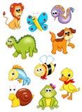 Reihe Tiere