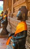Reihe von Buddha Stockbilder