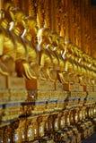Reihe von buddhas Stockbilder