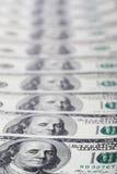 Reihe von Dollar Stockfotografie