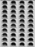Reihe von Fenstern Lizenzfreies Stockbild