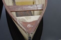 Reihen-Boot lizenzfreies stockfoto
