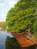 Reihen-Boote Lizenzfreies Stockfoto