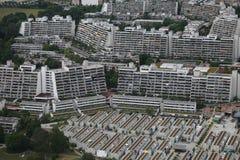 Reihen der Gebäude Stockfotografie