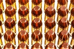 Reihen der Kugeln Lizenzfreies Stockbild