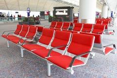 Reihen der leeren Sitze Lizenzfreie Stockfotografie