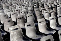 Reihen der Sitze stockfotos