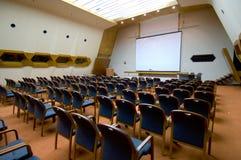 Reihen der Sitze Stockbild