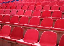 Reihen der Sitzen stockfoto