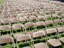 Reihen der Stühle Lizenzfreies Stockfoto
