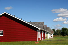 Reihen-Häuser Stockfotos
