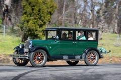 Reihen-Limousine 1926 Oldsmobiles E Lizenzfreie Stockfotos