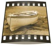 Reihenboot stockfoto