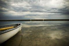 Reihenboot am sunnyside Toronto Lizenzfreie Stockbilder