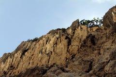 Reihenfolge der Felsen Stockfoto
