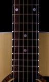 Reiht Gitarre auf Stockbilder