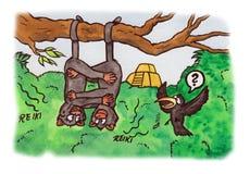 Reiki Monkeys (2007) Immagini Stock