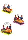 Reiki Reiki comico strano (2010) Immagine Stock