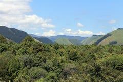 Reikorangi Valley. Reikorangi is a locality on the Kapiti Coast in New Zealand's North Island. It is inland, behind Waikanae in the Akatarawa Valley of the Royalty Free Stock Images