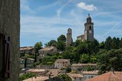 Reillan, de Provence, Lubreon, Frankrijk Stock Afbeeldingen