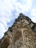 Reims Cathederal, Francja Fotografia Royalty Free