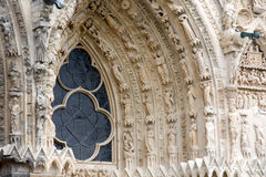 Reims Cathedral Royalty Free Stock Images