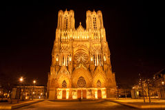 Reims Cathedral Royalty Free Stock Image