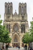 The Reims Cathedral Royalty Free Stock Photos