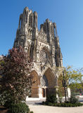 Reims cathedral Stock Image