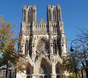 Reims cathedral Royalty Free Stock Photos