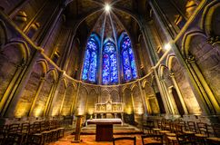 Free REIMS FRANCE 2018 AUG: Interior Of The Cathedrale Of Reims. It Is The Seat Of The Archdiocese Of Reims, Where The Kings Of France Royalty Free Stock Images - 140654419