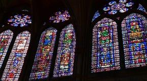 Reims Francja, Lipiec, - 25 2016: Notre Damae katedra Obrazy Stock