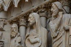 Reims, Frankreich - 25. Juli 2016: Notre Dame-Kathedrale Stockbild